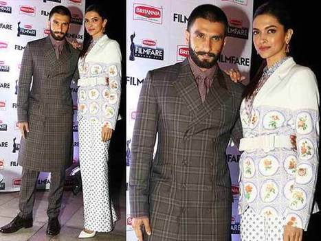 #CoupleFashionLessons: Best Of Deepika's & Ranveer's Outfits From Bajirao Mastani Promotions | Celebrity Fashion Trends | Scoop.it