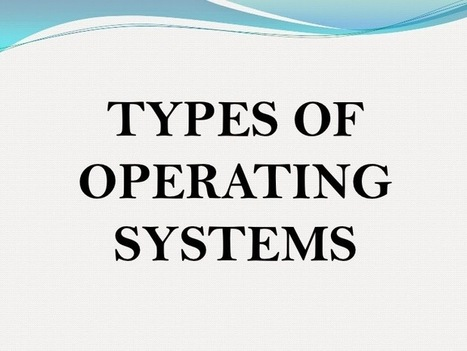 Operating System Types   Exam result 2013   Scoop.it