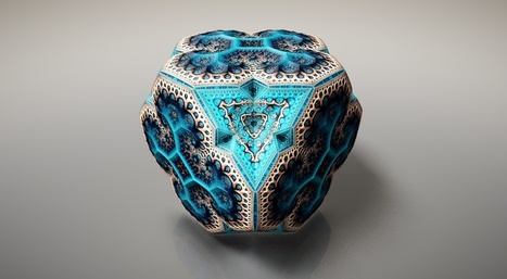 FractalsFabergé Fractals by Tom Beddard, using his... | Eines i recursos web | Scoop.it