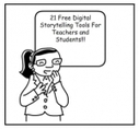 Free Digital Storytelling Tools For Teachers and Students | Emerging Learning Technologies | Scoop.it