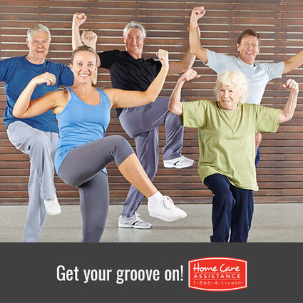 Seniors' Having fun in Zumba! | Home Care Assistance of Scottsdale | Scoop.it
