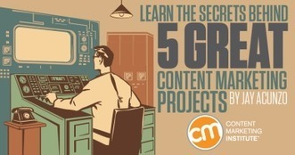 Learn the Secrets Behind 5 Great Content Marketing Projects | #Social | Scoop.it