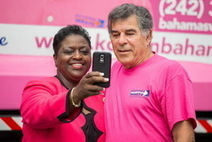 Big Pink Selfies initiative to help trash cancer | HG Christie's Luxury Bahamas Real Estate | Scoop.it