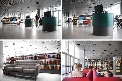 Médiathèque Dokk1, Aarhus, Danemark | architecture & design en bibliotheques | Scoop.it