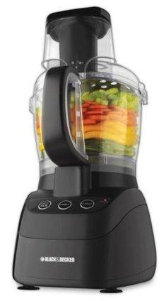 Black & Decker FP2500B PowerPro Wide-Mouth 10-Cup Food Processor, Black | Cheap Food Processors | food Processors | Scoop.it