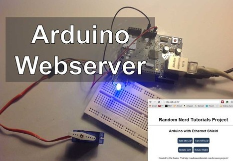 Arduino - Webserver with an Arduino + Ethernet Shield | Open Source Hardware News | Scoop.it