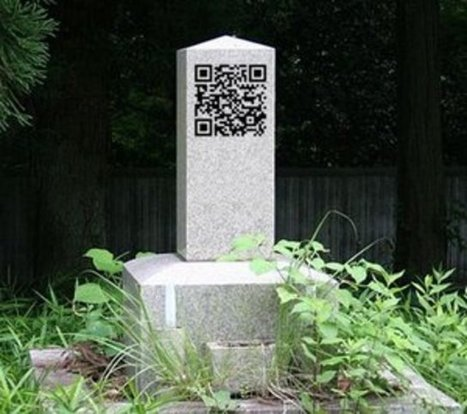 Chinese smartphone users can now 'call' the dead | QR Code Cemetery | Scoop.it