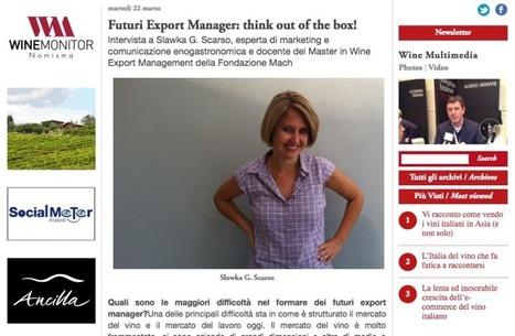 Una mia intervista su Wine Meridian | Marketing del vino | Fondazione Mach | Scoop.it