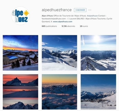 Comment les stations de ski communiquent-elles sur les réseaux sociaux ? | Tout sur le Tourisme | Scoop.it