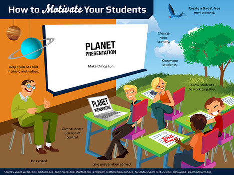 21 Simple Ideas To Improve Student Motivation - | Student Engagement & Motivation | Scoop.it
