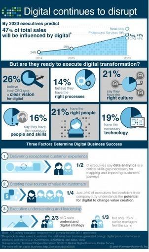 Digital Transformation 2016 Infographic | Retail Trends | Scoop.it