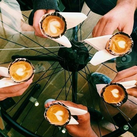 Coffee in a cone takes over Instagram   Caffeinated Parrot   Scoop.it