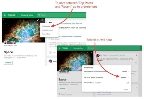 Google+ cède aux sirènes des algorithmes | Geeks | Scoop.it