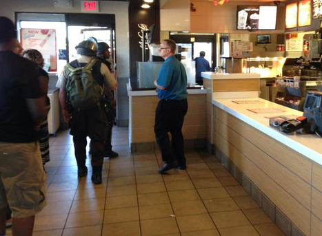 Ferguson: SWAT Team Raids McDonald's Arrests Two MSM Journalists Who Were Eating Inside | Criminal Justice in America | Scoop.it