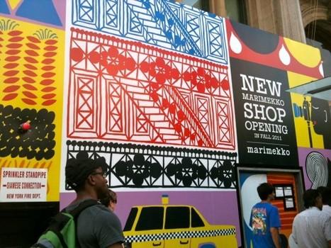 Marimekko Wraps Its Future Flagship in Vivid Finnish Prints - Racked NY | Finland | Scoop.it
