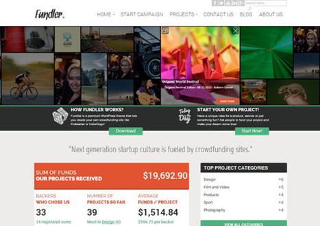10 Crowdfunding WordPress Themes for Crowdfunding Site | Smashmagz | Smashmagz | Scoop.it