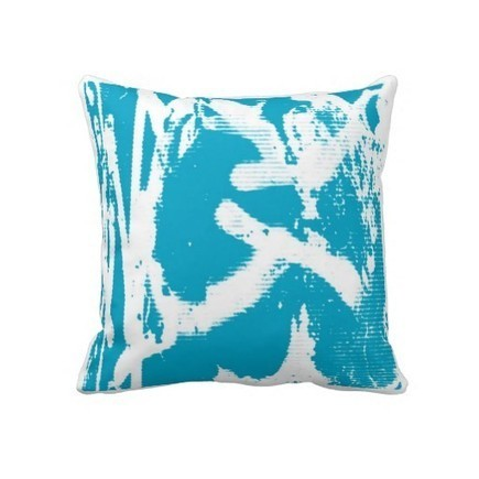 Graffiti Pillow at Zazzle.ca | Artist Pillows | Scoop.it