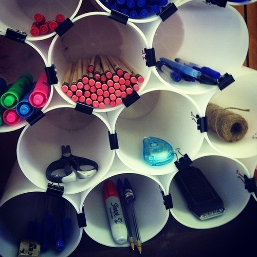 Ordinaire ... Office Supplies Organization Ideas