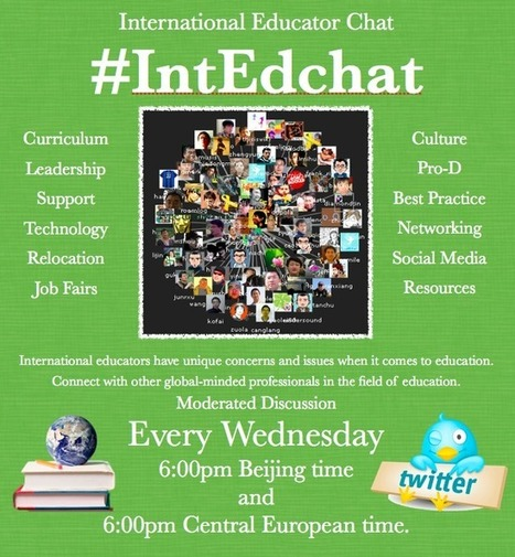 The International Education Chat Forum #IntEdchat on Twitter! | Experiential Learning Initiatives | Scoop.it