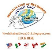 Watch Live 4th World Kabaddi Cup 2013: Watch Live 4th Kabaddi World Cup 2013 Here | InternetTopics | Scoop.it