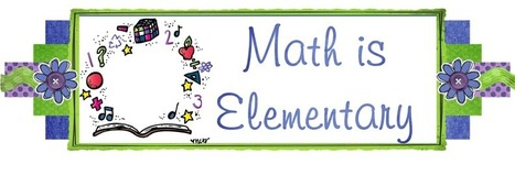 Math is Elementary: Monday Made It: August 5th | Math Tools | Scoop.it