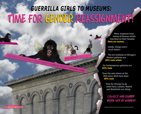 Jerry Saltz: My Final Word on MoMA's Woman Problem | Dare To Be A Feminist | Scoop.it