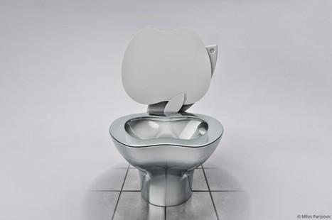 Arrivée de l'iPoo, les toilettes à la mode Apple. Dérision quand tu nous tiens | Apple, a new way of life | Scoop.it