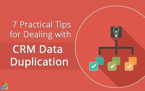 7 Practical Tips for Dealing with CRM Data Duplication | CRM Data Migration Tips | Scoop.it
