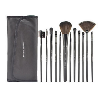 12Pcs Black High-grade Special Makeup Brush Set - makeupsuperdeal.com | Makeup Brushes | Scoop.it