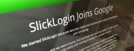 Google acqui-hires 'sounds as passwords' startup SlickLogin | Technological Sparks | Scoop.it