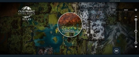 Guild Wars 2 Atlas Map Launched; Discover the Living World of Tyria | Guild Wars 2 | Scoop.it