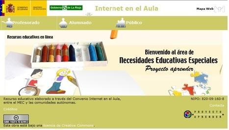 Proyecto Aprender: Necesidades Educativas Especiales | Herramientas digitales educación | Scoop.it