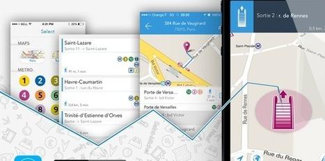 [Bon App] Métro sortie, l'application de navigation pour Parisien pressé | Technologie Au Quotidien | Scoop.it