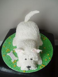 Sarahs Cakes: West Highland White, Westie Little dog cake   West Highland White Terrier   Scoop.it