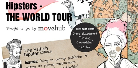 Hipsters: The World Tour | MoveHub | moving | Scoop.it