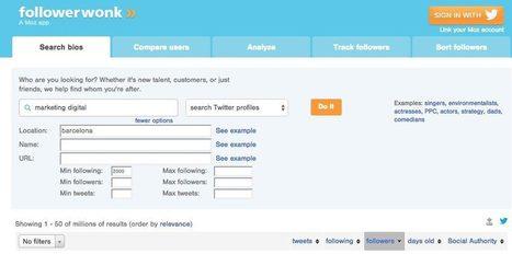 12 herramientas para buscar Influencers en Redes Sociales | PLE-PLN | Scoop.it