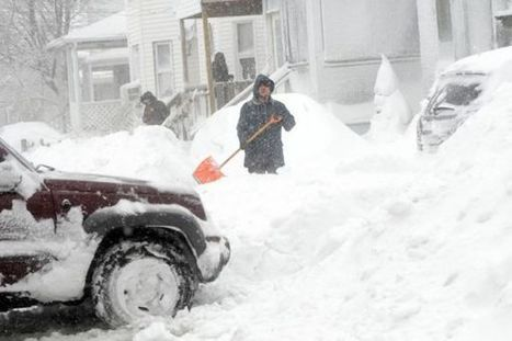 ClimateBites - Intense snowstorms! Yep. Actually that is global warming. | Y10 Humanities Geography of Climate Change | Scoop.it
