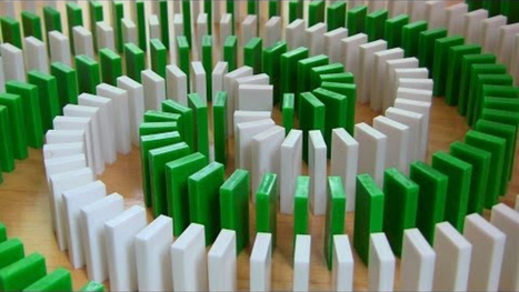 You Wouldn't Think To Set Up Such Clever Domino Destruction | Strange days indeed... | Scoop.it