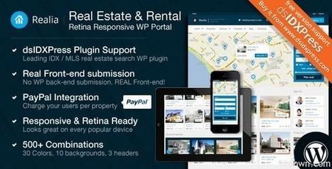 Realia v2.5.1 Responsive Real Estate WordPress Theme | Download Free Full Scripts | %3 | Scoop.it