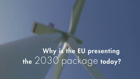 2030 framework for climate and energy policies - European Commission | Sustainable Design in Architecture and Urban Planning: Inspirations, Principles, Methods and Tools. | Scoop.it