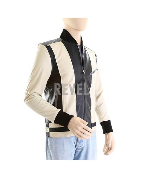 Mens Retro Bomber Leather Jacket - Roberto | Leather Jacket | Scoop.it