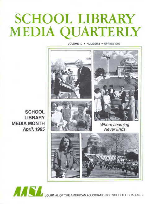 School Library Month History | American Association of School Librarians (AASL) | School Libraries around the world | Scoop.it