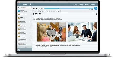 Mic Note -Voice Recorder & Notepad for Windows,Mac,Chrome,Android,Linux. | Outils de TICE | Scoop.it