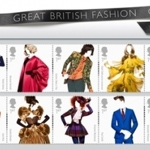Great British Fashion Stamps | Mail style | Scoop.it