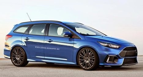 Carscoops: We Know You'd Love a Ford Focus RS Estate and Sedan So Here They Are | Consumer Automotive News | Scoop.it
