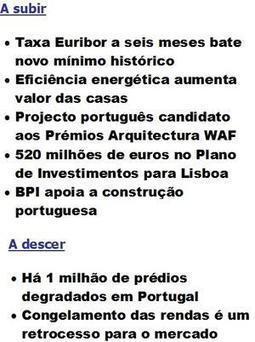 A arquitetura que eu estudei, acabou! / Entrevistas / Home - Diário Imobiliário | Ocupar Portugal | Scoop.it