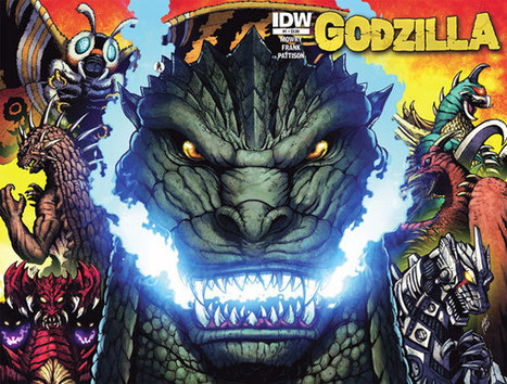Godzilla: Rulers of Earth Announcement | Daikaiju | Scoop.it