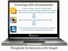 Free Technology for Teachers: Chromebook Creation: Slides, ThingLink, & Snagit | Integrating Technology in World Languages | Scoop.it