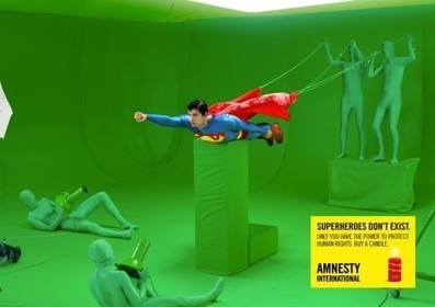 Amnesty International advertises the clumsy way because Superheroes don't exist | Pépites du World Wide Web | Scoop.it