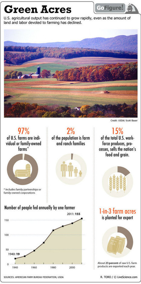 10 Great Agriculture Infographics | Teachers Toolbox | Scoop.it